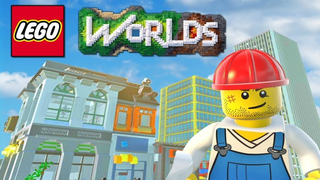 LEGO Worlds – LEGO City Building, TOWN HALL, Police Station & More! (LEGO Worlds)
