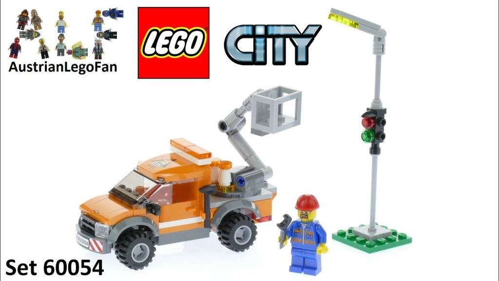 Lego City 60054 Light Repair Truck – Lego Speed Build Review