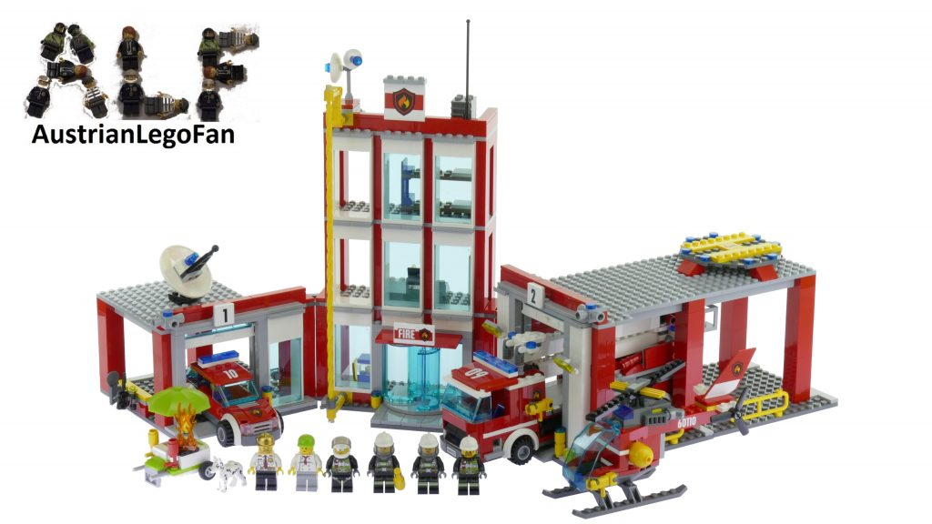 Lego City 60110 Fire Station – Lego Speed Build Review