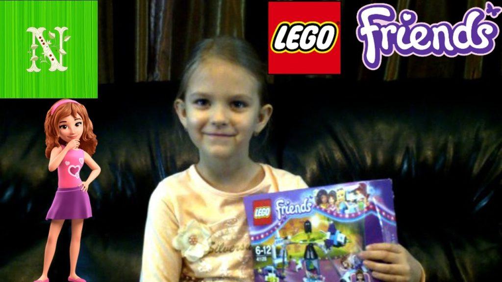 ЛЕГО Lego Friends Открываем и собираем ЛЕГО ФРЕНДС Для девочек  Парк Аттракционов