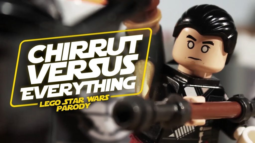 Chirrut vs. Everything – LEGO Star Wars Parody
