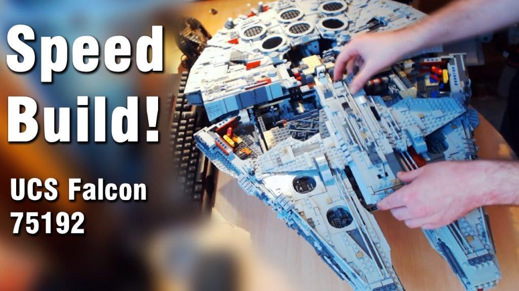 LEGO Star Wars: UCS Millennium Falcon 75192 SPEED BUILD!