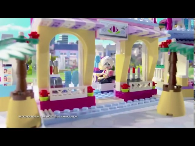 Lego Friends   Heartlake Shopping Mall 41058