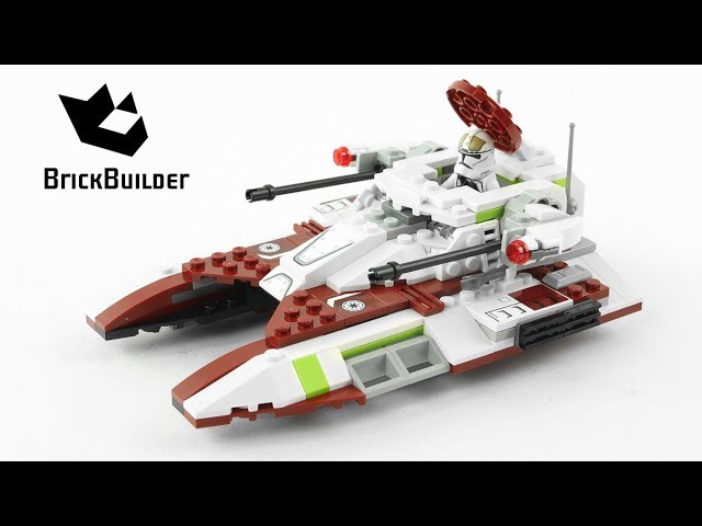 Lego Star Wars 75182 Republic Fighter Tank – Lego Speed Build