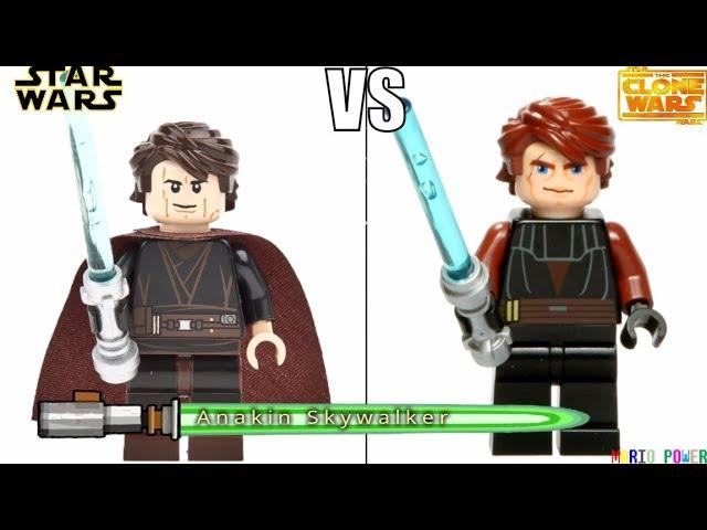 Lego Star Wars – Movie VS Cartoon