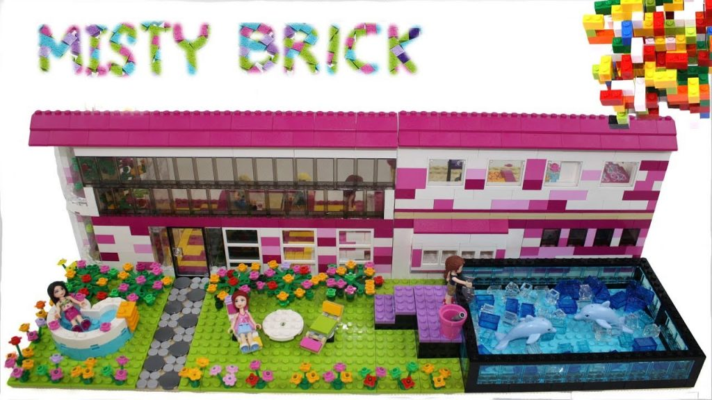 Lego Friends House  #21 by Misty Brick.