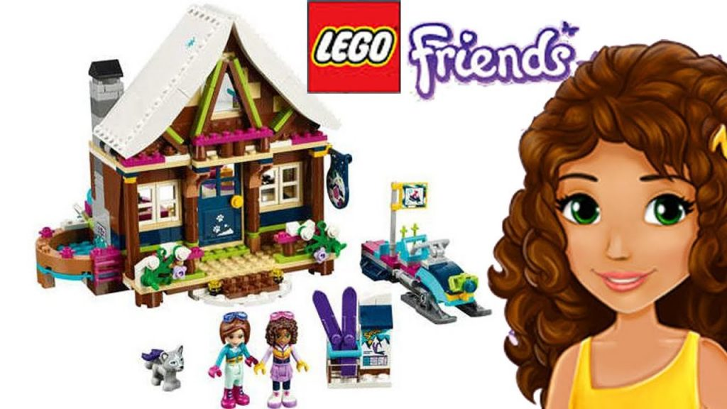 LEGO Friends Snow Resort Playground Build Silly Play Kids Toys Competition Winner