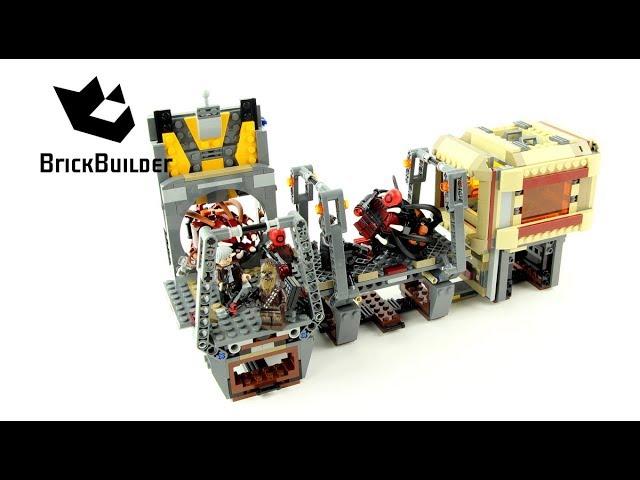 Lego Star Wars 75180 Rathtar Escape – Lego Speed Build