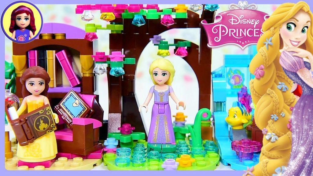 Rapunzel Tiny Diorama Disney Princess Tangled DIY Build Lego Craft Kids Toys