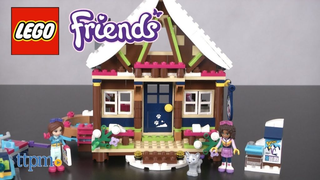 LEGO Friends Snow Resort Chalet from LEGO