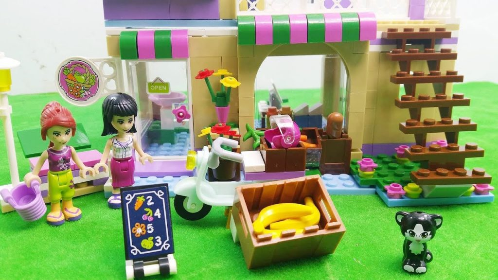 LEGO Friends SuperMarket Playground Build Silly Play Kids Toys Competition Winner
