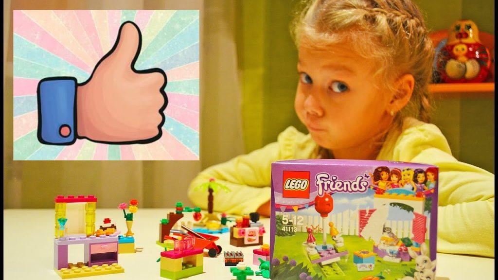 Распаковка LEGO FRIENDS конструктора для детей. Обзор детского набора ЛЕГО ФРЕНДС Unboxing!