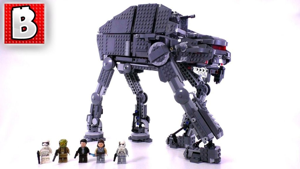 LEGO Star Wars First Order Heavy Assault Walker 75189!   Unbox Build Time Lapse Review