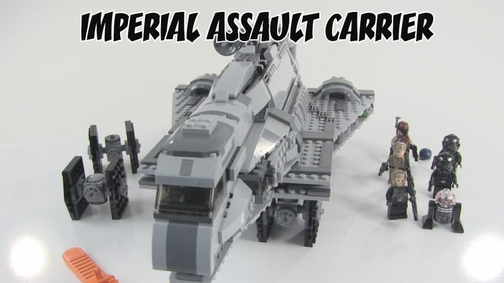 LEGO Star Wars Imperial Assault Carrier Review : LEGO 75106