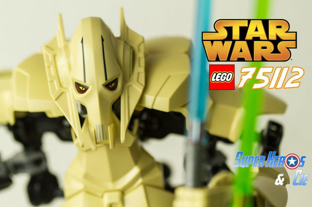 LEGO Star Wars 75112 General Grievous Buildable figure figurine Jouet Toy for Kids Review
