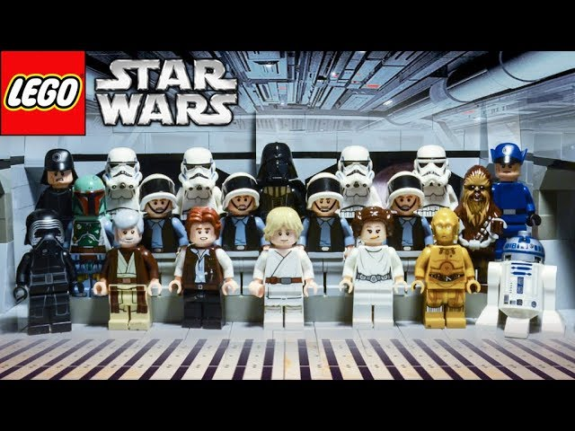 Lego Star Wars Stop Motion: Join The Dark Side (Star Wars Parody) ✔
