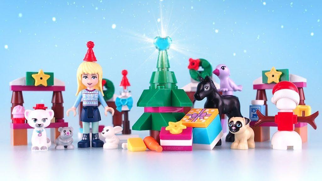 LEGO Friends Advent Calendar 2017 – Stop Motion & Unboxing & Magic Speed build LEGO 41326