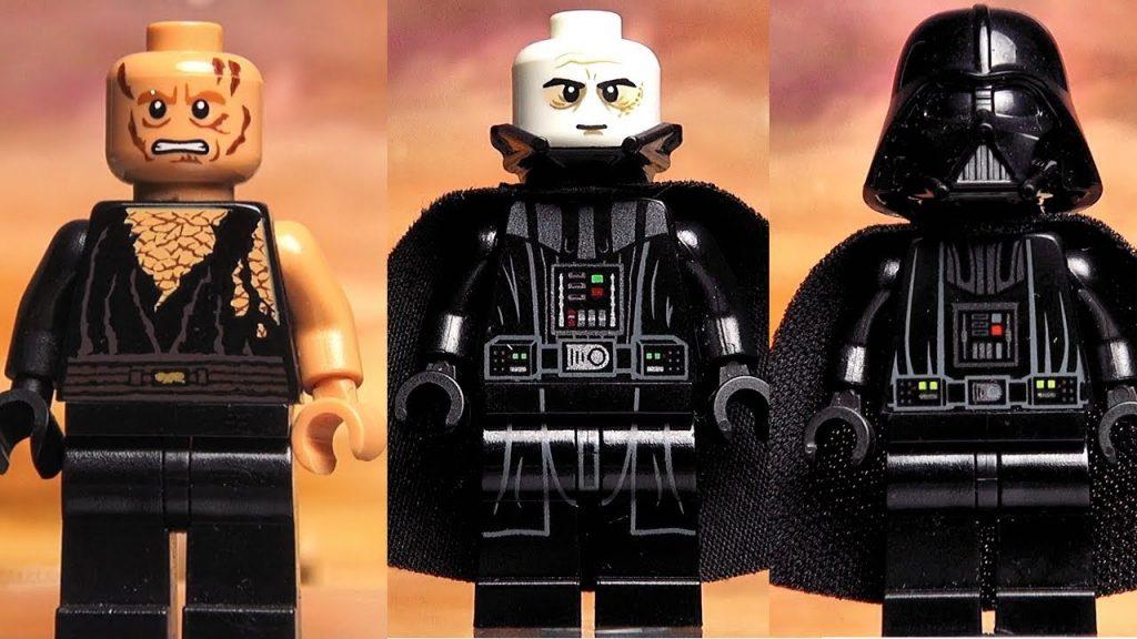 Дарт Вейдер LEGO Star Wars минифигурки вся моя коллекция Обзор Лего видео для детей