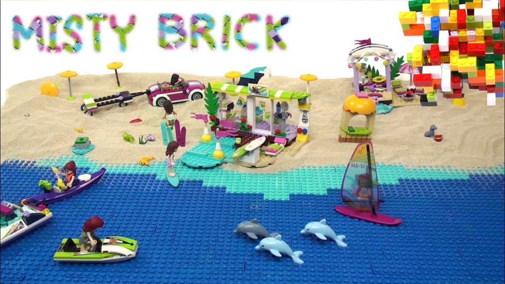 Lego Friends Summer Holidays on the Beach by Misty Brick.