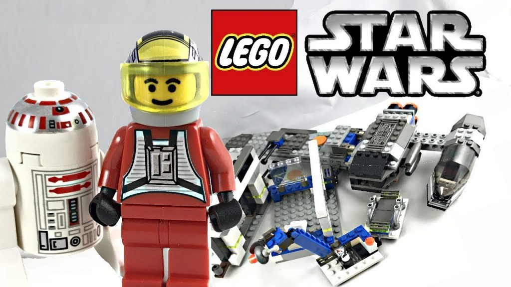 LEGO Star Wars B-wing at Rebel Control Center review! 2000 set 7180!