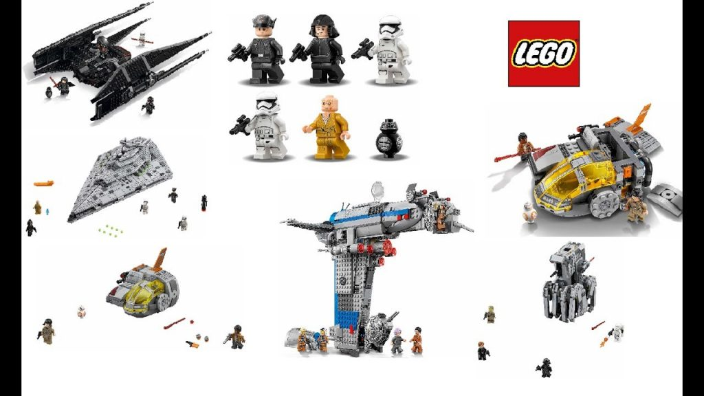 """LEGO Star Wars """"The Last Jedi"""" official set pictures 