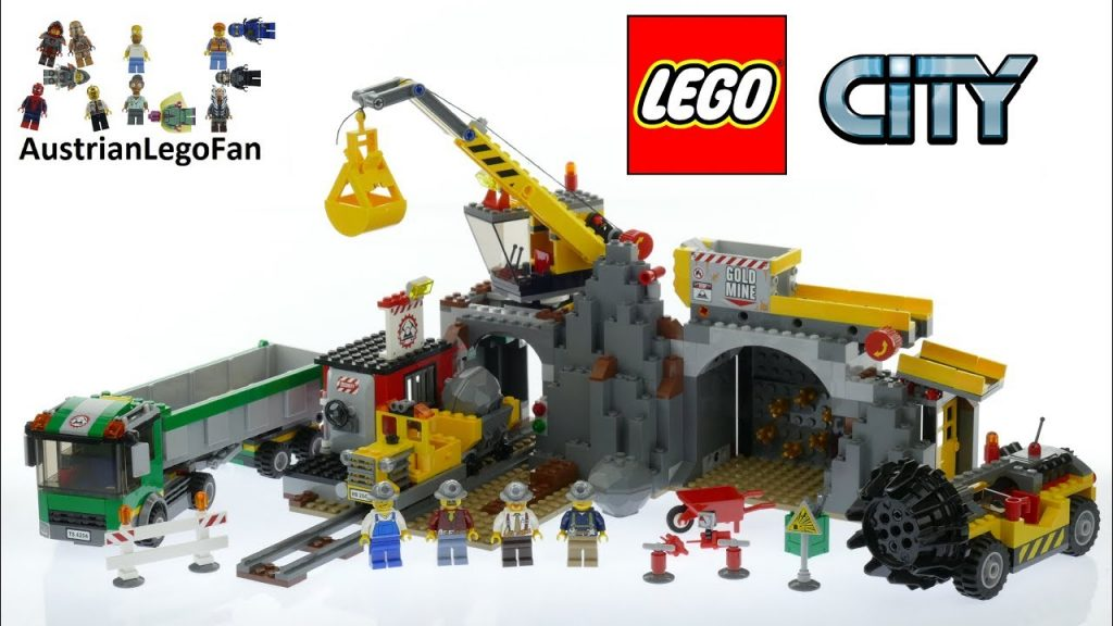 Lego City 4204 The Mine – Lego Speed Build Review