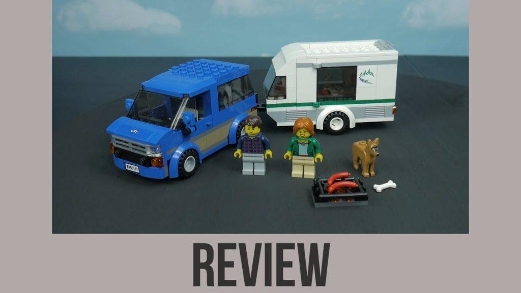 LEGO City Van & Caravan Comedic Review