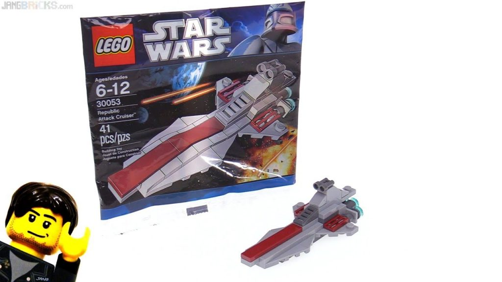 LEGO Star Wars Republic Attack Cruiser polybag from 2011! set 30053
