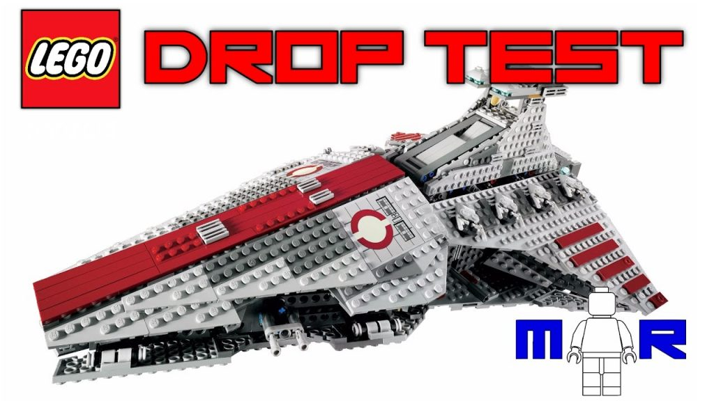 LEGO Star Wars Venator DROP TEST! (LEGO 8039!)