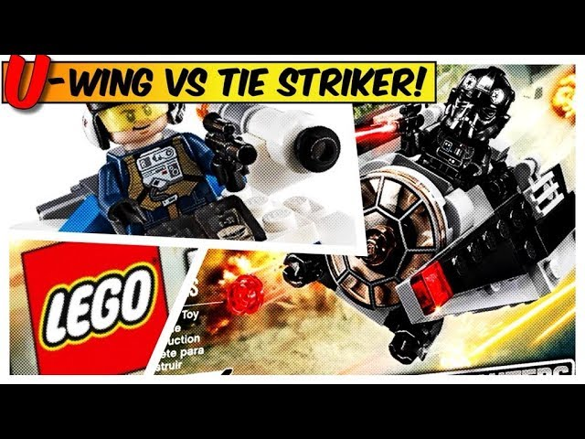 LEGO Star Wars – U-Wing Fighter vs. TIE Striker Build and Review
