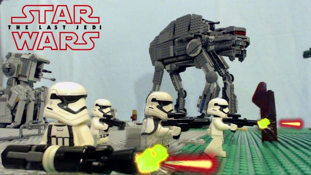 LEGO Star Wars the Last Jedi:  Battle at the First Order Base on Crait