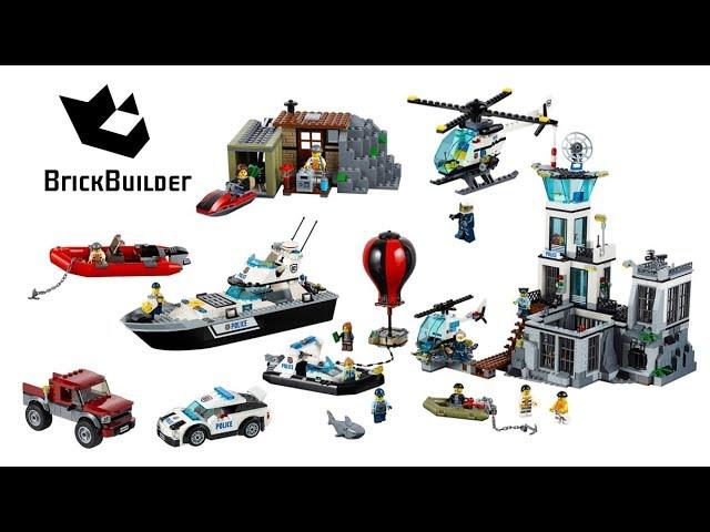 Lego City Prison Island 2016 Compilation – Lego Speed Build