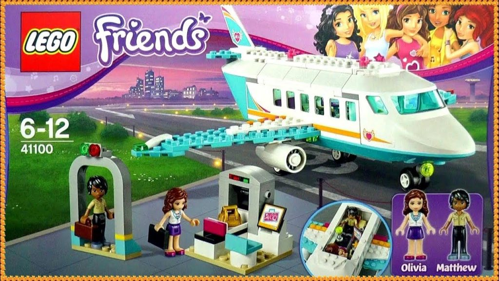 LEGO Friends Heartlake Private Jet  41100 Building Kit by Funtoys Channel