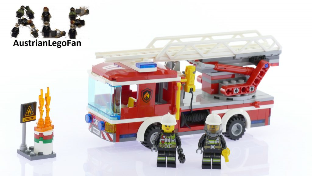 Lego City 60107 Fire Ladder Truck – Lego Speed Build Review