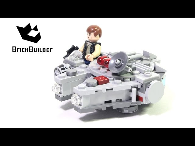 Lego Star Wars 75030 Millennium Falcon – Lego Speed Build