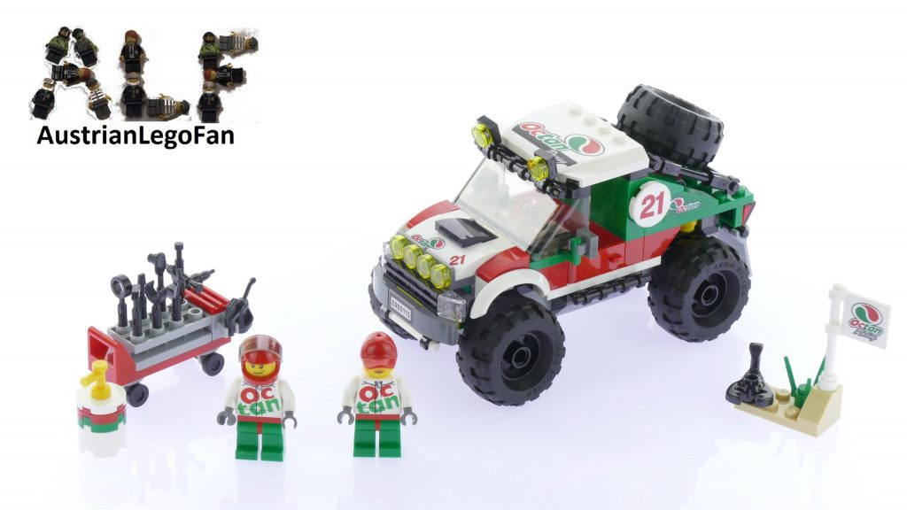 Lego City 60115 4 x 4 Off Roader – Lego Speed Build Review
