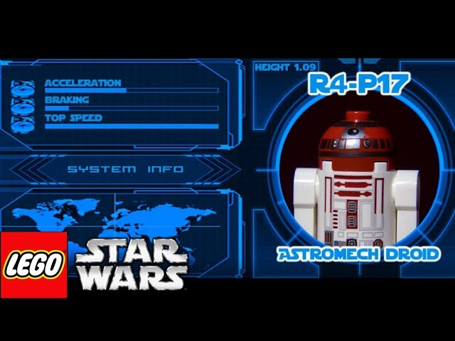 Lego Star Wars Movie Stop Motion: Droid Days Wacky Races ✔