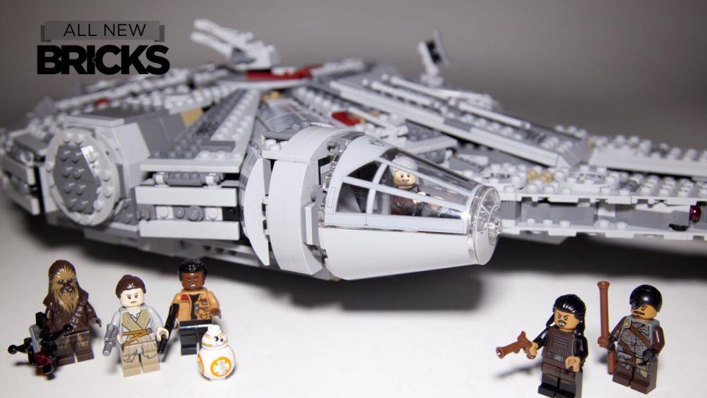Lego Star Wars 75105 Millennium Falcon Speed Build