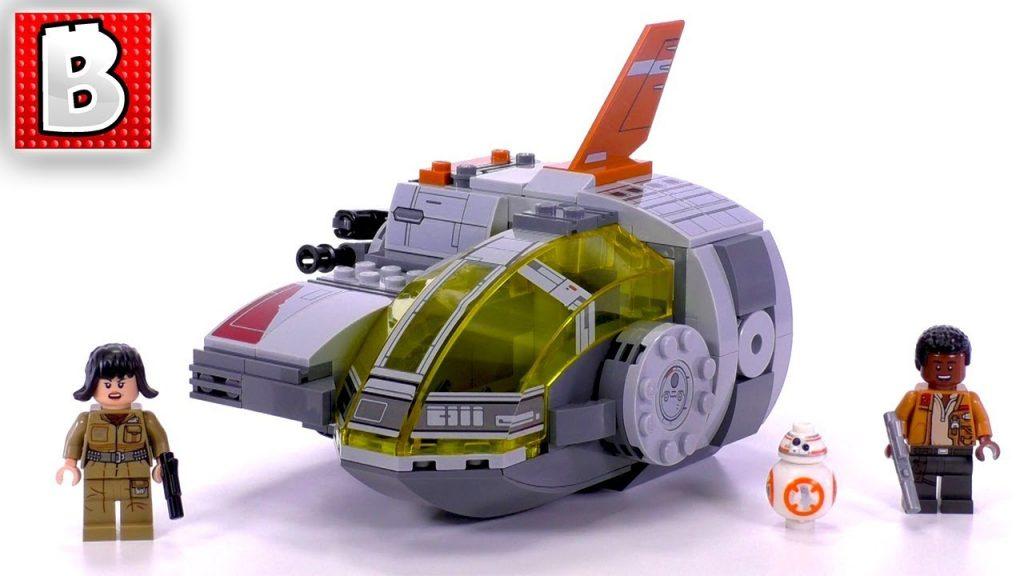 LEGO Star Wars The Last Jedi Resistance Transport Pod 75176! | Unbox Build Time Lapse Review