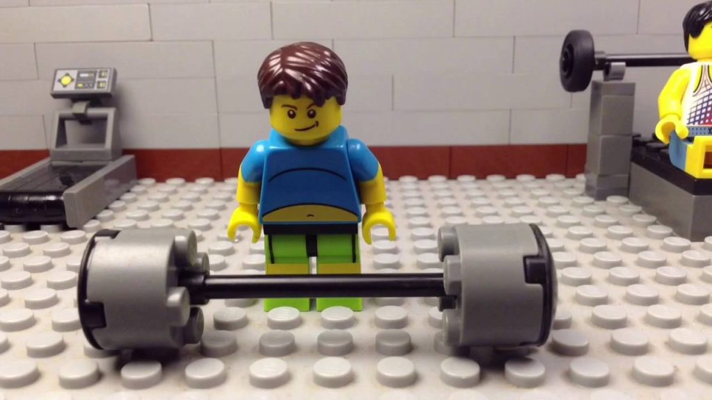 Lego Going to The Gym