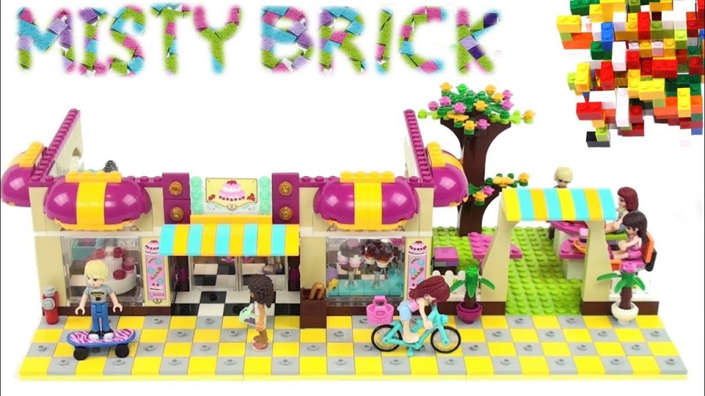 Lego Friends Sweet-shop by Misty Brick.