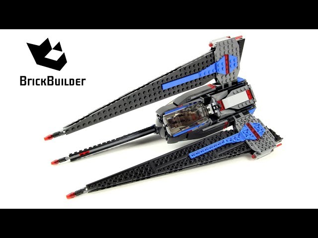 Lego Star Wars 75185 Tracker I – Lego Speed Build