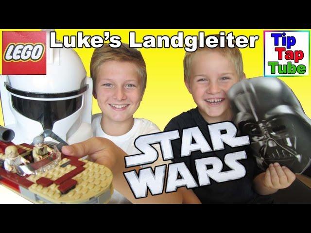 Lego Star Wars 8092 Lukes Landgleiter aufbauen Spielzeug Kanal für Kinder Kinderkanal