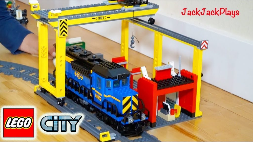 Lego City Cargo Train – Toy Unboxing, Building, Playing