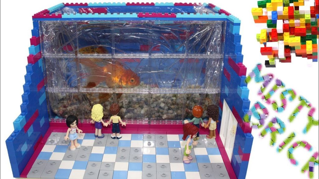 Lego Friends – Golden Fish World Aquarium by Misty Brick.
