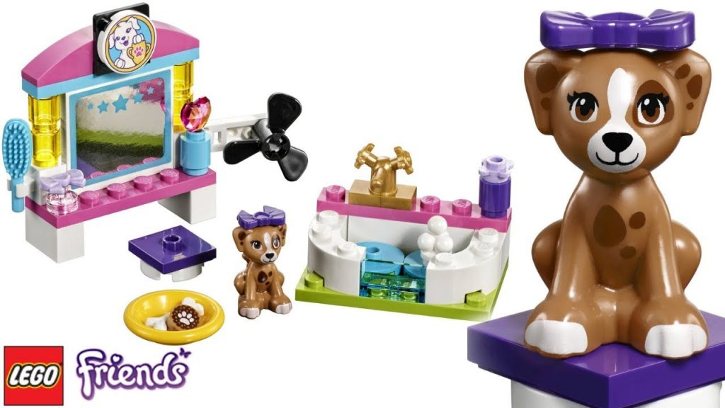 LEGO Friends Puppy Pampering Mini Kit | Kids Learning Building Play Set !