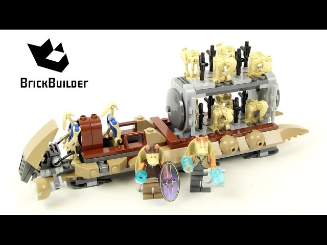 Lego Star Wars 7929 The Battle of Naboo – Lego Speed Build