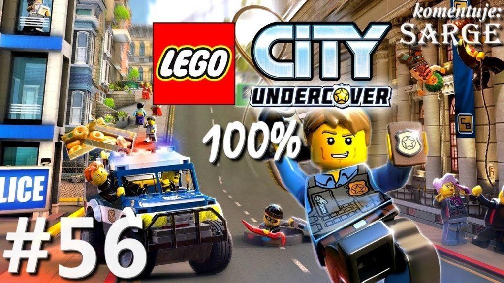 Zagrajmy w LEGO City Tajny Agent (100%) odc. 56 – Plac Jasnych Świateł [2/2]   LC Undercover PL