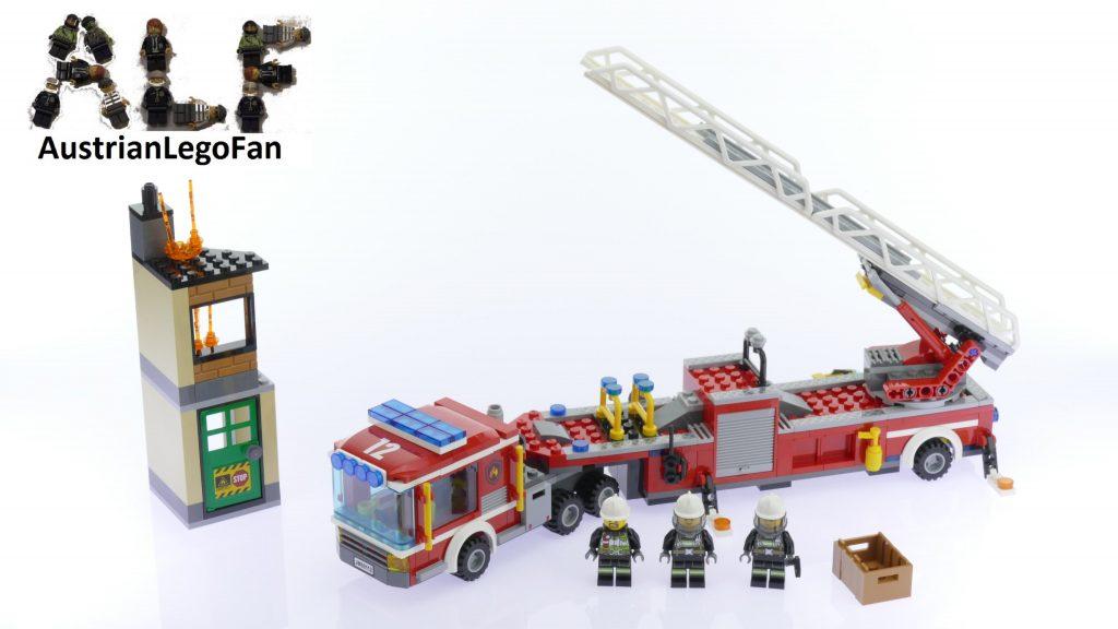 Lego City 60112 Fire Engine – Lego Speed Build Review
