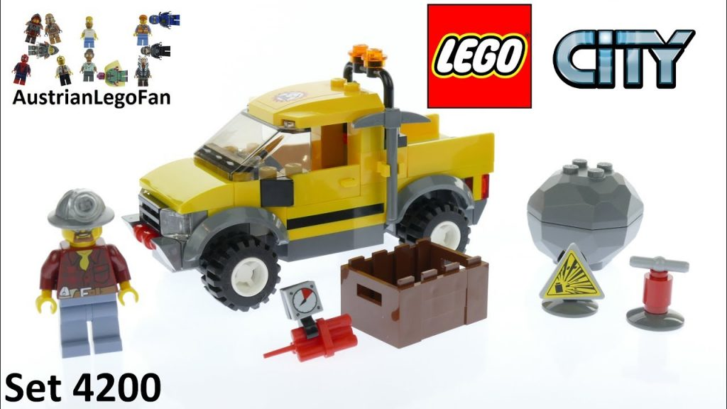 Lego City 4200 Mining 4×4 – Lego Speed Build Review